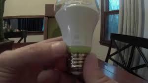 ge link light bulb wink ge link led light bulbs smart bulb review wink youtube