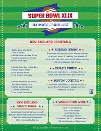 the ultimate drink list for your super bowl party drink a