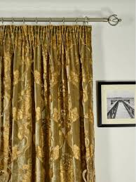 Black And Gold Damask Curtains by Hebe Regal Floral Damask Velvet Custom Made Curtains