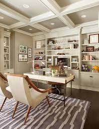 gray coffered ceiling design ideas