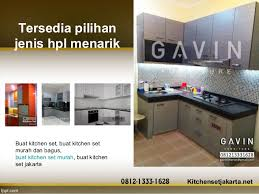 furniture kitchen set harga kitchen set murah di gavin furniture