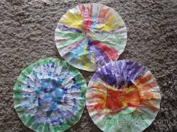 Butterfly Crafts For Kids To Make - spring crafts for kids coffee filter butterfly craft idea