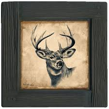 deer decor for home deer coasters rustic charm for your home rustic home decor guide