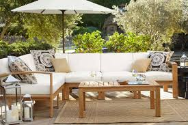 Modern Wood Outdoor Furniture Patio Perfect Wood Patio Furniture Eucalyptus Wood Patio