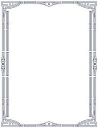 printable art deco borders free download art deco border clipart for your creation art