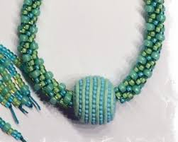making necklace with beads images Kumihimo tips hints png