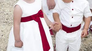 tenue enfant mariage tenue de cortège de mariage tenue d enfant d honneur tenue de