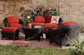 Red Patio Chair Cushions Red Patio Furniture Home Outdoor