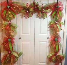 lighted christmas garland mantle piece by wreathsbylaura on etsy