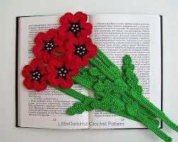 crochet poppy patterns for remembrance day u2022 lovecrochet blog