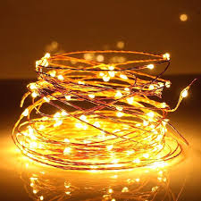 copper wire led lights copper wire led string lights silver fairy with power adapter warm