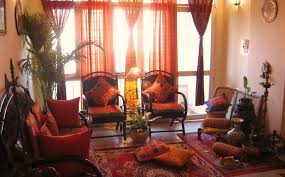 indian sitting room traditional indian living room design with brown wooden sofa with