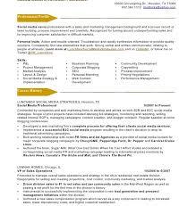 Social Media Community Manager Resume Dazzling Design Inspiration Social Media Manager Resume 3 Social