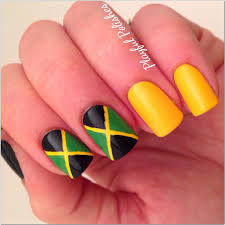 rastajamaican nail art youtube jamaican nail art design european