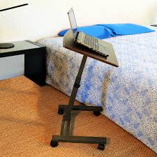Bedside Laptop Desk Table Remarkable Movable Computer Desk Mobile Workstation Portable