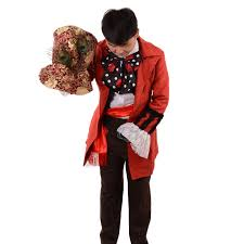 Mad Hatter Halloween Costume Men Alice Wonderland Costume Picture Detailed Picture