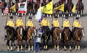 California Flag Horse California Rangers The Eagle Troop