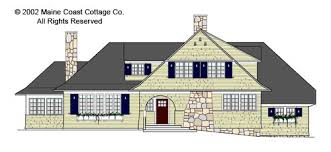 New England Beach House Plans Shingle Style House Plans By Maine Coast Cottage Co Offering