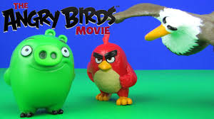 angry birds 2016 movie toys action figure bags collection opening