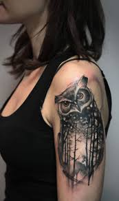 upper arm tattoos for girls best 25 owl tattoo sleeves ideas on pinterest owl tattoos cute