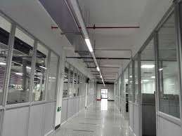 suspended linear light fixtures 48w suspended linear fluorescent light fixtures sanli led lighting
