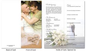 custom wedding programs wedding program 1 custom passport invitations