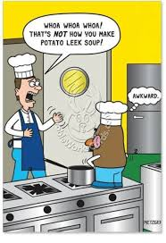 Leek Meme - whoa whoa whoa that s not how you make potato leek soup awkward c