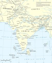 Asia Physical Map Quiz by South Asia Physical Map