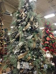 black white u0026 burlap christmas tree decorations from