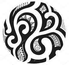 ornaments in style of maori stock vector polyudova 80049548