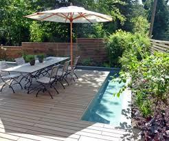 Small Townhouse Backyard Ideas Amusing Deck Garden Designs Classic Woodenbackyard Decking Ideas