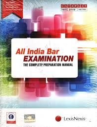 all india bar examination the complete preparation manual buy
