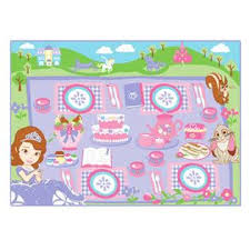 disney sofia game rug
