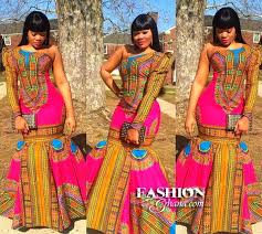 pink dashiki maxi dress african clothing african print dresses