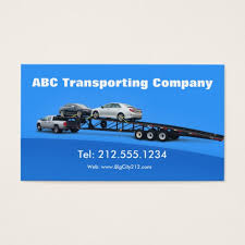 transportation business cards templates zazzle