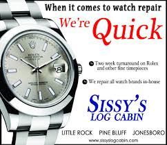 rolex ads print ads sissy u0027s log cabin