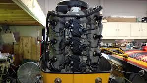 1989 mercury 2 4 bridgeport efi 245 hp complete powerhead for sale