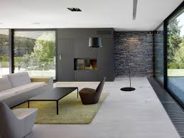 architecture decoration stone wall interior with fireplace in