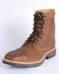twisted x s boots twisted x boots s steel toe 8 lacer work boot fort brands