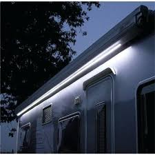 Exterior Led Strip Lighting Blue Led Lighting At Awning Rail Caravan Awning Led Strip Lights