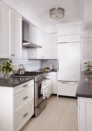 Classic White Interior Design Flooring Classic White Kitchen Decoration With Tan Cancos Tile