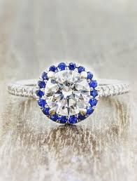 diamond rings round images Charlotte stunning round halo engagement ring ken dana design jpg