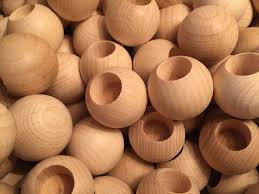 wooden balls wooden balls with special holes wooden balls of beechwood 60mm