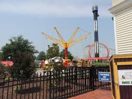 Closest Six Flags A Visit To Six Flags America And Bourbon Street Fireball Review