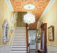 Textured Wallpaper Ceiling by 41 Best Wallpapered Ceiling Images On Pinterest Wallpaper