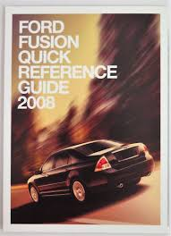 2008 ford fusion owners manual guide book bashful yak