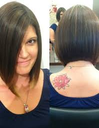 long bob haircut front and back pics images u0026 pictures becuo