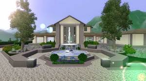 Large Estate House Plans The Sims 3 Mansion Design Ranch No Custom Content The Good