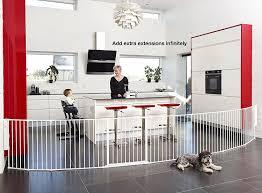 scandinavian pet design pet pen and room divider white amazon co