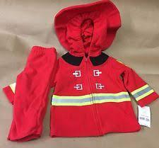 Baby Boy Halloween Costumes 6 9 Months Carter U0027s Baby 2pc Fire Fighter Fireman Red Fleece Halloween